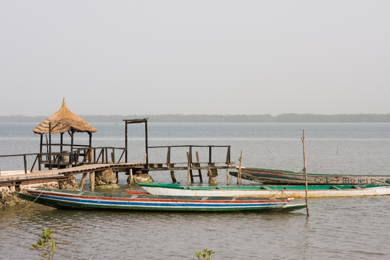 Gambia-Fluss